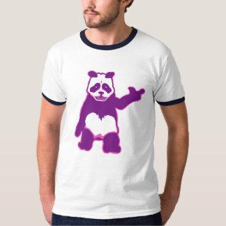 青いパンダの人のTシャツ Tシャツ
