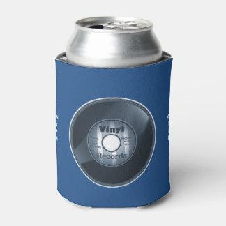 青いビニール45 RPMの記録 缶クーラー