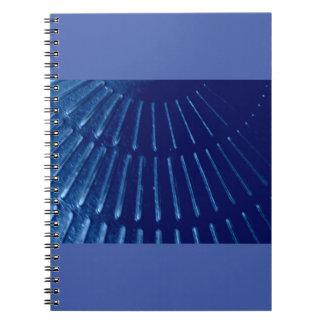 青いビームノート ノートブック