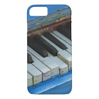 青いピアノ iPhone 8/7ケース