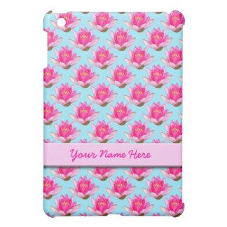 青いピンクのスイレン iPad MINIカバー