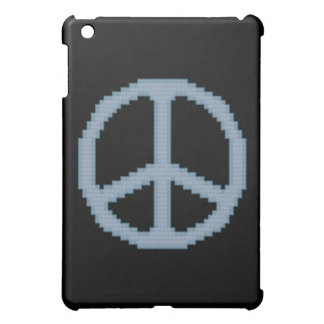 青いピースサイン iPad MINIカバー