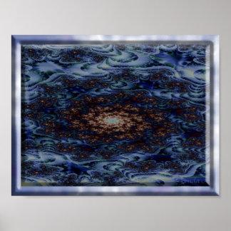 青いファンタジー ポスター