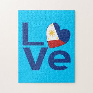 青いフィリピン愛 ジグソーパズル