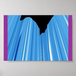 青いフロストの自殺の低下 ポスター