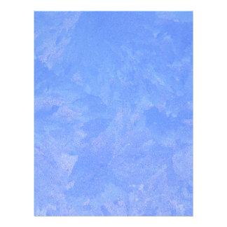 青いフロスト レターヘッド