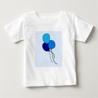 青いブランデーグラス ベビーTシャツ