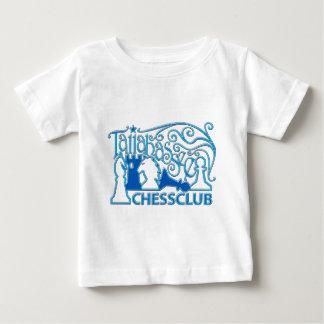 青いプラスチックワイシャツ ベビーTシャツ