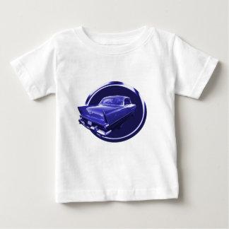 青いプリマスに ベビーTシャツ