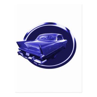 青いプリマスに ポストカード