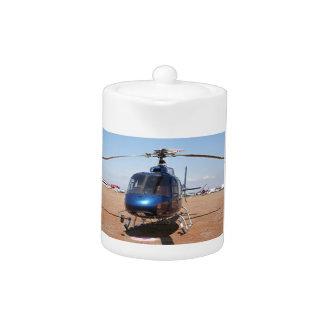 青いヘリコプター