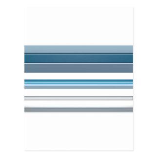 青いベンチ ポストカード