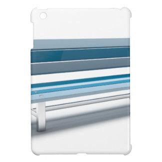 青いベンチ iPad MINIケース