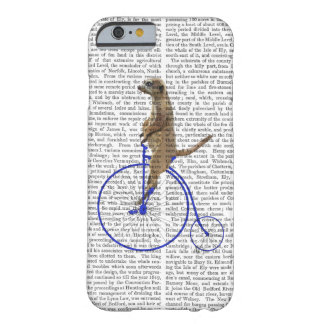 青いペニーのFarthingのMeerkat Barely There iPhone 6 ケース