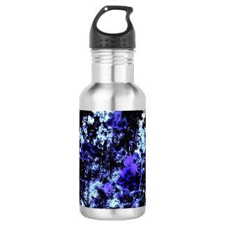 青いペンキの水差し ウォーターボトル