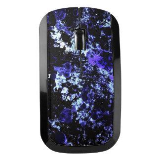 青いペンキの無線電信のマウス ワイヤレスマウス
