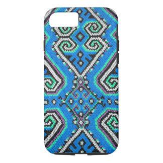 青いボヘミアの幾何学的設計 iPhone 8/7ケース