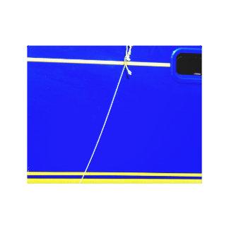 青いボート キャンバスプリント