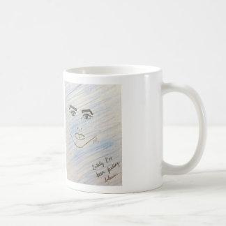 青いマグを感じること コーヒーマグカップ