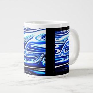 青いミキサーの     専門のマグ ジャンボコーヒーマグカップ