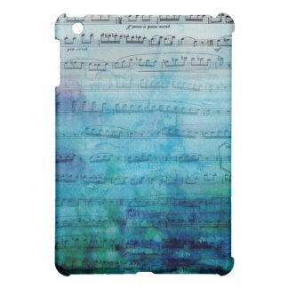 青いムード音楽 iPad MINIケース