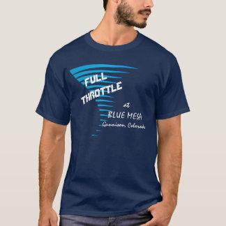 青いメサの全速力 Tシャツ