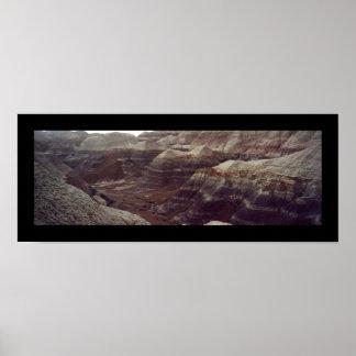 青いメサの道、化石森林 ポスター