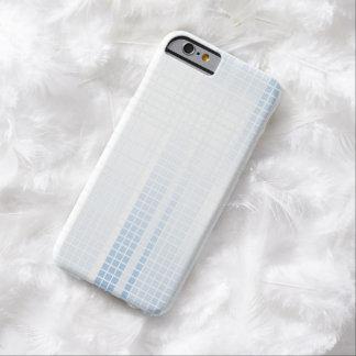 青いモザイク・タイル BARELY THERE iPhone 6 ケース