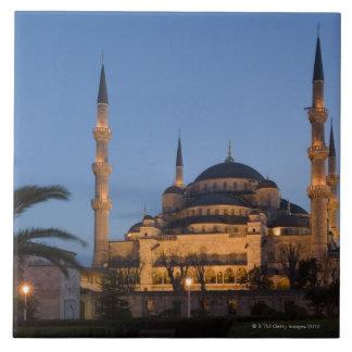 青いモスク、Sultanhamet区域、イスタンブール、トルコ タイル