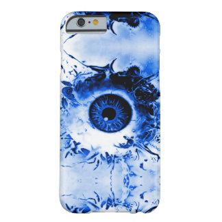 青いモンスターの目の監視人の恐怖ショー BARELY THERE iPhone 6 ケース