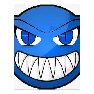 青いモンスター レターヘッド