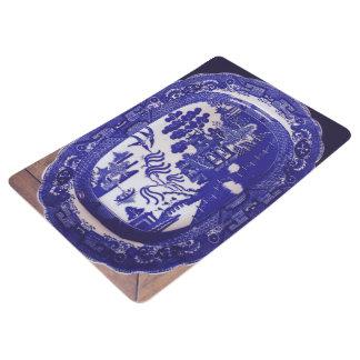 青いヤナギのドアマット フロアマット