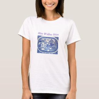 青いヤナギのTシャツ-即刻の記憶 Tシャツ