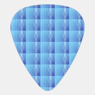 青いライト ギターピック