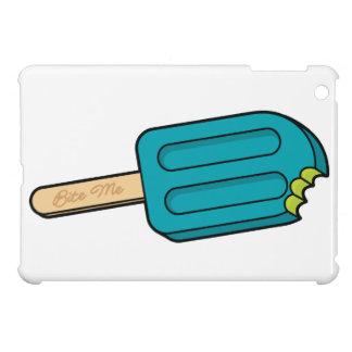 青いラズベリーのアイスキャンデーは私をiPad Miniケースかみます iPad Mini カバー