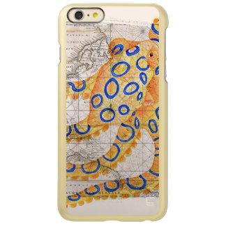 青いリングのタコの地図 INCIPIO FEATHER SHINE iPhone 6 PLUSケース