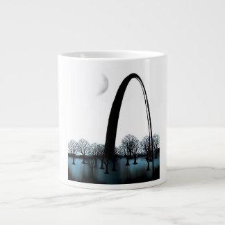 青いルー ジャンボコーヒーマグカップ