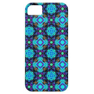 青いレトロのファンキーなiの電話箱 iPhone SE/5/5s ケース
