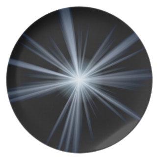 青いレンズの火炎信号の破烈 プレート