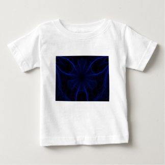 青いレーザーパターン ベビーTシャツ