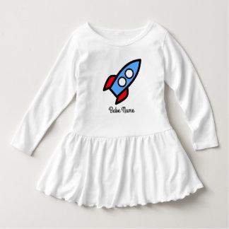 青いロケットの飛行 ドレス