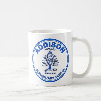 青いロゴのコーヒー・マグ コーヒーマグカップ
