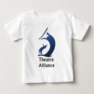 青いロゴ ベビーTシャツ
