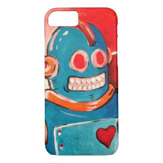 青いロボット iPhone 8/7ケース
