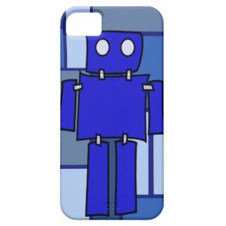 青いロボット iPhone SE/5/5s ケース