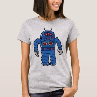 青いロボット Tシャツ