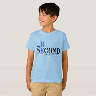 青いワイシャツをからかいます Tシャツ