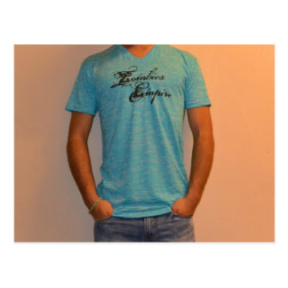 青いワイシャツ ポストカード