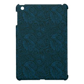 青いヴィンテージのペイズリーパターンiPad Miniケース iPad Mini カバー