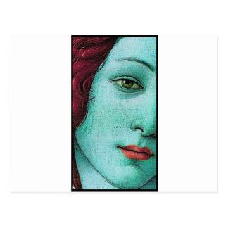 青いヴィーナス ポストカード
